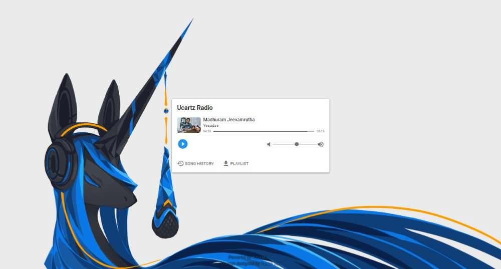 Azuracast-Public-player-Page