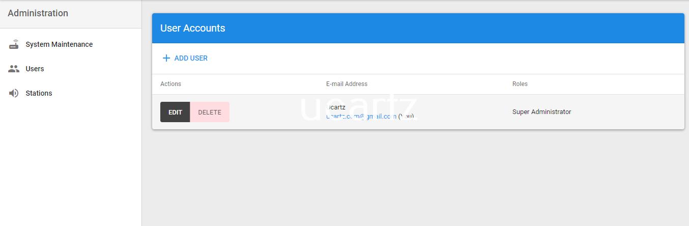 azuracast-add-new-user-ucartz