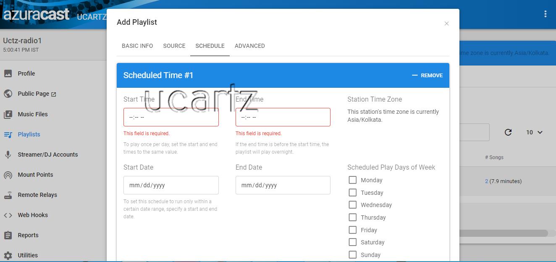 azuracast-schedule-playlist-ucartz